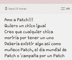 amor, patch, and hush hush image