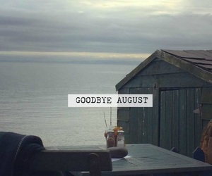 August, end, and goodbye image