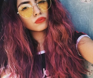 90s, colored hair, and dyed hair image