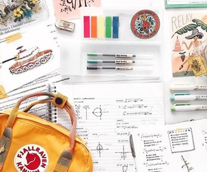 backpack, inspiration, and school supplies image