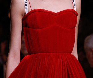 fashion, dior, and red image