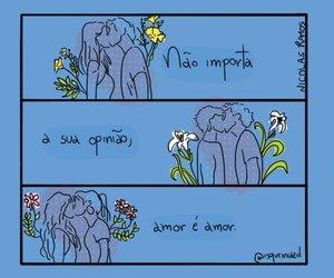 love is love and amor é amor image