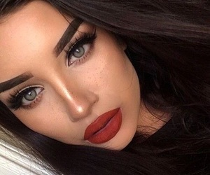 girls and makeupgoals image