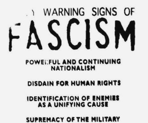 Fascism, nationalism, and sign image