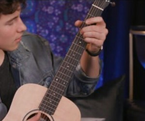 guitar, music, and shawn image
