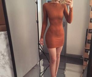 color, dress, and Nude image