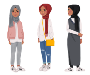hijab fashion image