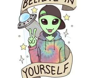 alien, glitter, and random image