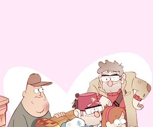 background, family, and gravity falls image