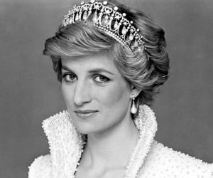 princess and black and white image