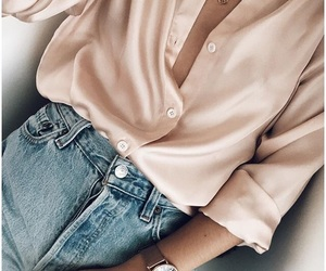 blouse, fashion, and pink image