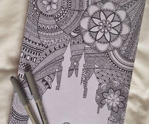drawing, art, and disney image