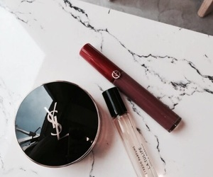 makeup, beauty, and YSL image