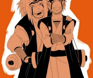 naruto, anime, and jiraiya image