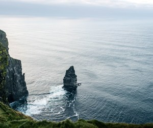 cliffs of moher, ireland, and wanderlust image