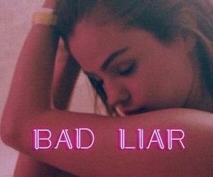 selena gomez and bad liar image