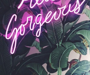 neon, gorgeous, and pink image