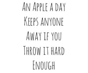 quotes, funny, and apple image