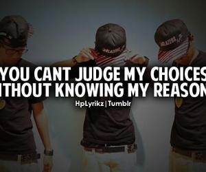 choice, judge, and quote image