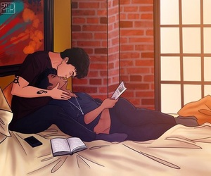 art, alec lightwood, and shadowhunters image