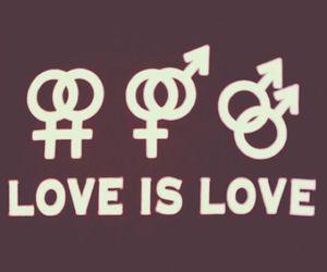 love, lgbt, and gay image
