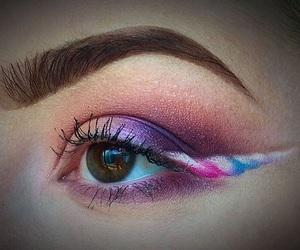 eye, eyeliner, and eyeshadow image