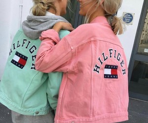 friendship, girls, and pink image