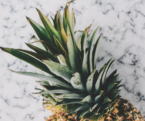 design, greens, and pineapple image