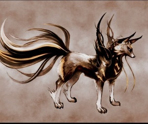 cool, fantasy, and wolf image