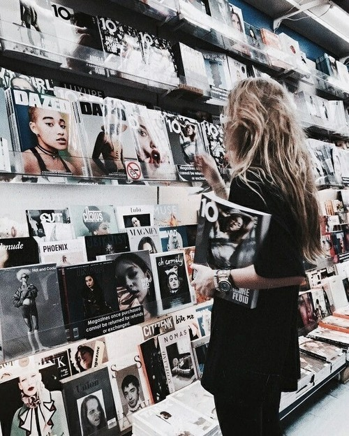 magazine, style, and article image