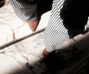 black, heels, and marble image