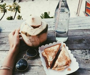 food, summer, and water image
