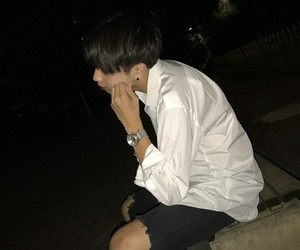 asian boy, aesthetic, and alternative image