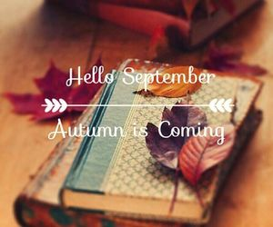 autumn, September, and book image