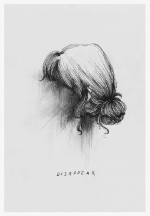 disappear, art, and drawing image