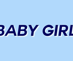 aesthetic, header, and baby girl image