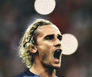 foot, football, and antoine griezmann image