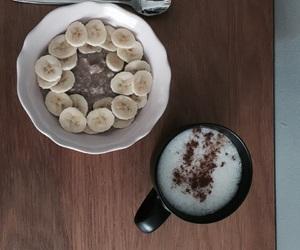 breakfast, vegan, and desk image