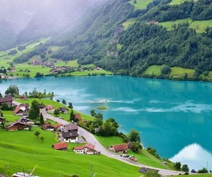 switzerland and train image