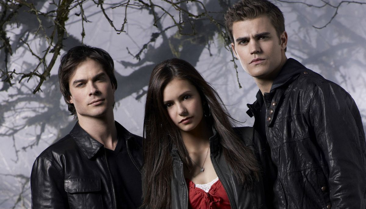 elena, Vampire Diaries, and damon image
