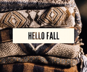 autumn, hello fall, and sweater weather image