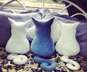 cat, diy, and Gatos image