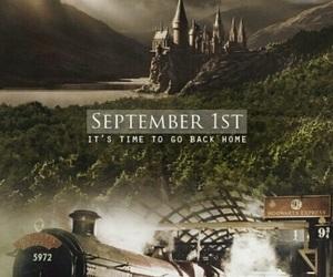 harry potter, hogwarts, and home image