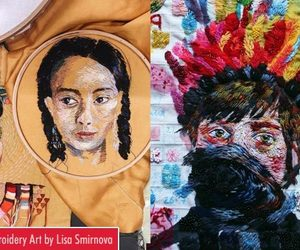 art and embroidery art image
