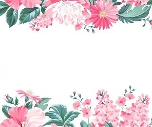 background, flower, and edit image