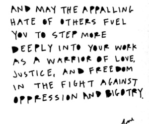 justice, women march, and warrior of love image