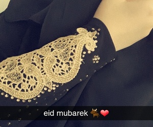 dress, eid, and gold image