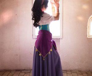 disney, esmeralda, and cosplay image