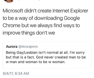 gay, homophobia, and internet explorer image