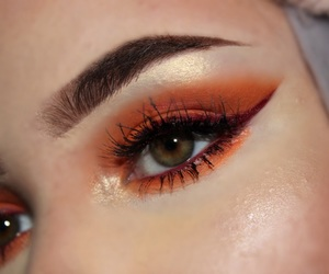 fall, glam, and makeup image